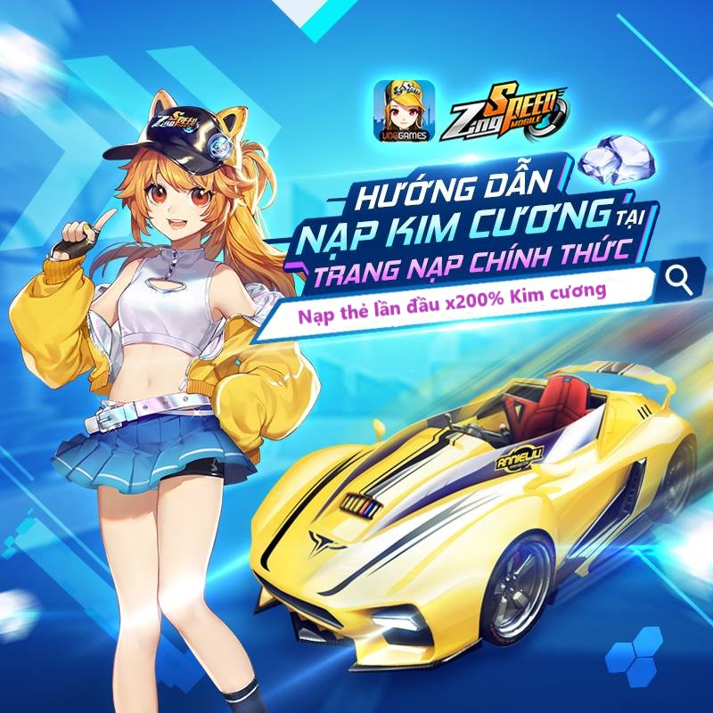 Nạp thẻ ZingSpeed Mobile